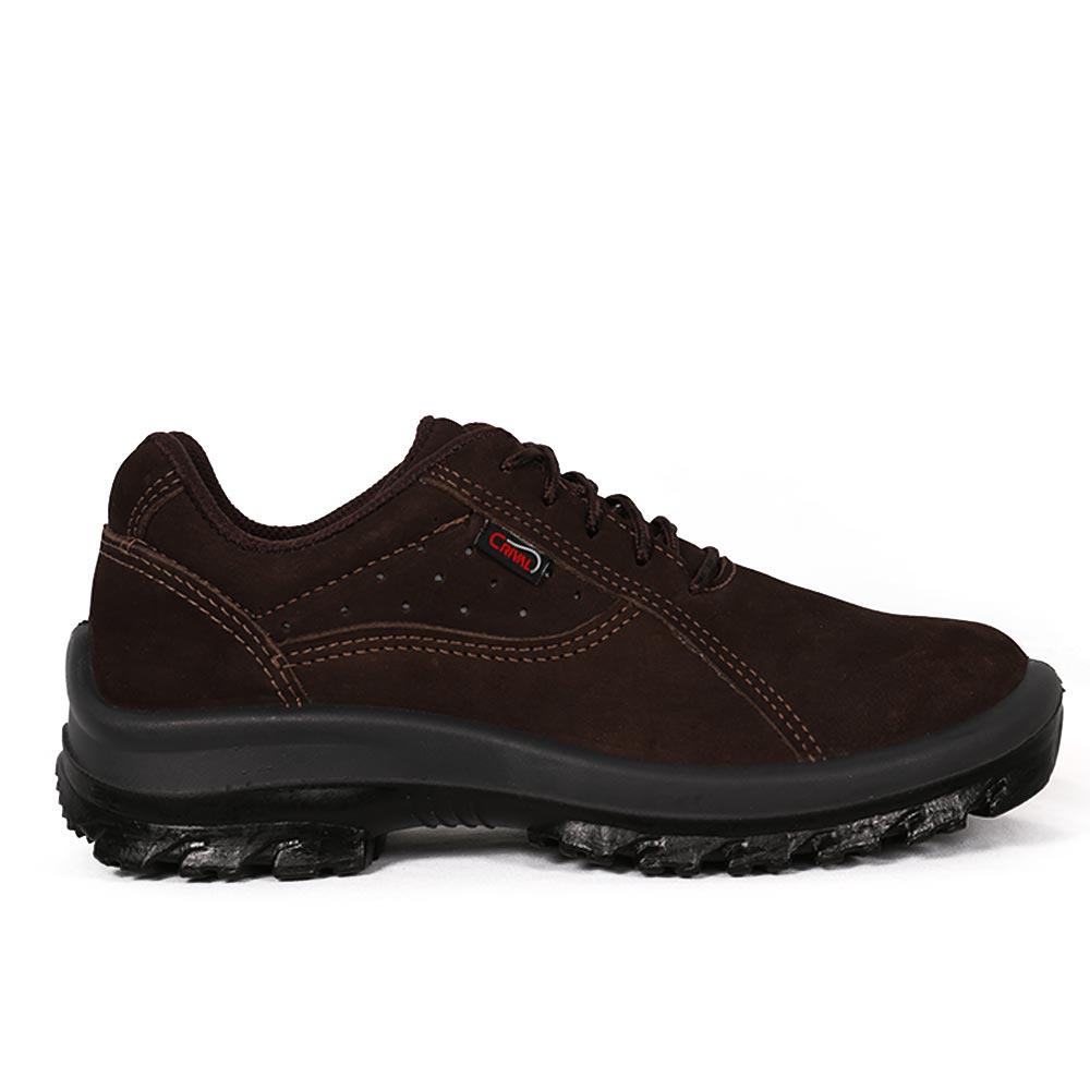 44d6792823271 Sapato de Amarrar Nobuck Café Crival. Home · Loja · Calçados de Segurança  ...