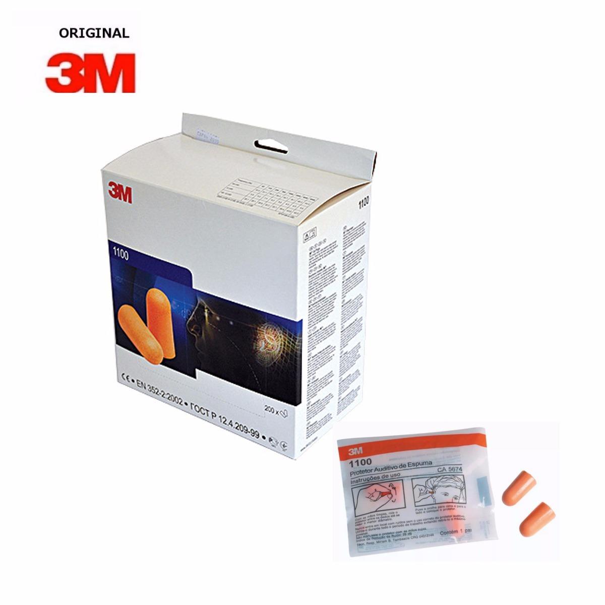 Protetor Auricular de Espuma – 3M – Americana EPI – Sua Segurança é ... a53fe4c4c1